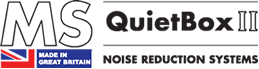 MS-Quietbox noise reduction enclosures logo